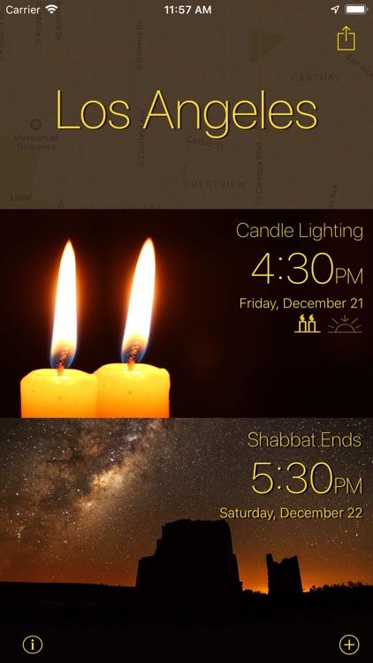 hanukkah candle lighting times nyc
