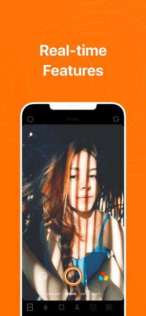 Retrica-Orijinal filtre kamera Screenshot