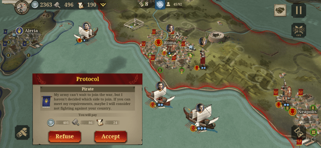 ‎Great Conqueror: Rome Screenshot