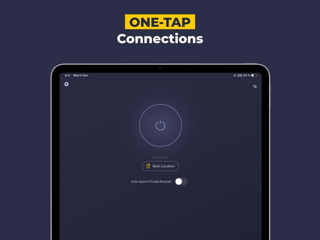 VPN by CyberGhost - WiFi Proxy Screenshot