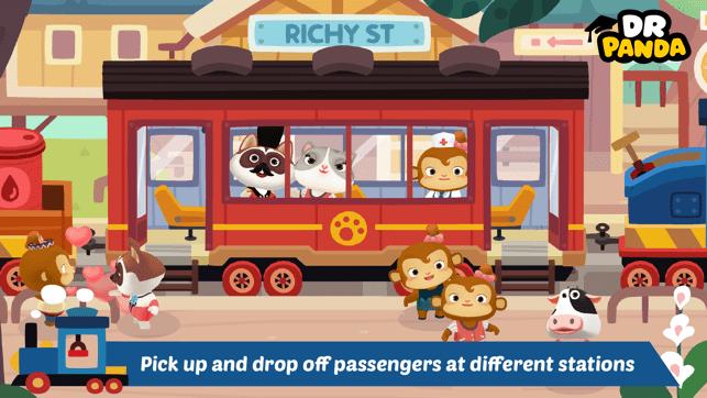 Dr. Panda Train Screenshot