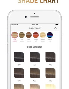 Koleston perfect shade chart screenshot also by coty inc rh appadvice