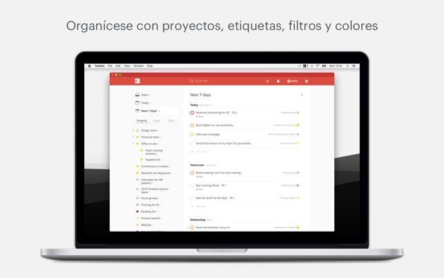 Todoist: Organiza tu vida Screenshot