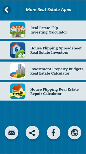 House Flipping Real Estate Repair Calculator on the App Store