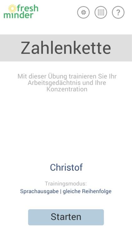 Fresh Minder 2 App