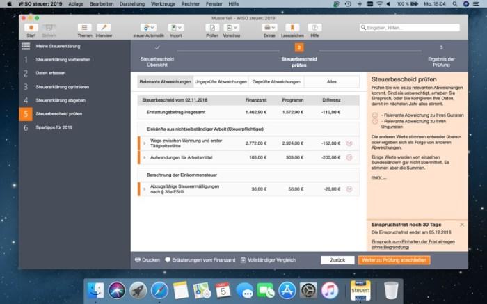 WISO steuer: 2019 Screenshot 10 9oof69n