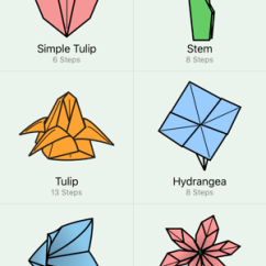 Origami Flower Diagram In English 220 Volt Motor Wiring Flowers On The App Store Screenshots