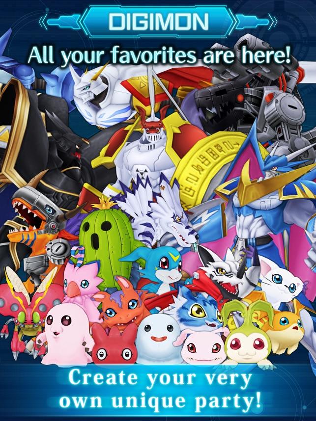 DigimonLinks Screenshot