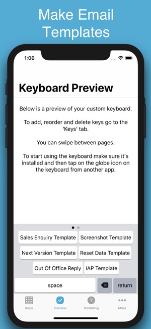 WordBoard - Phrase Keyboard Screenshot