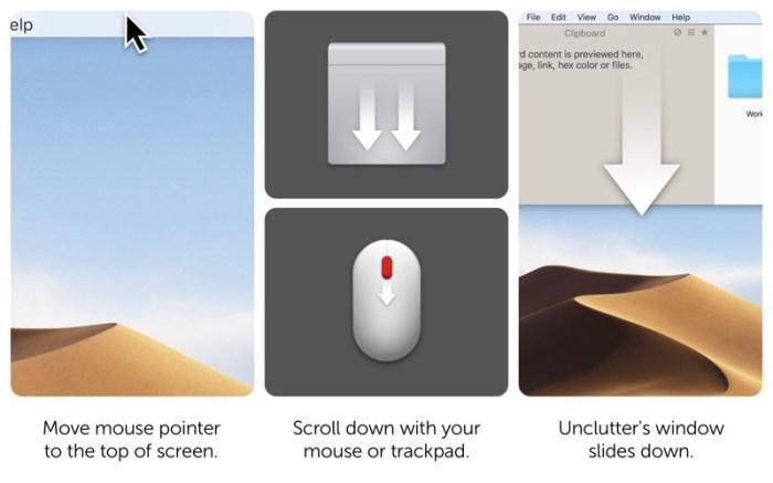 Unclutter Screenshot 02 f7incjn