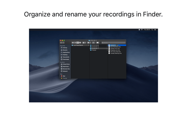 Just Press Record Screenshot