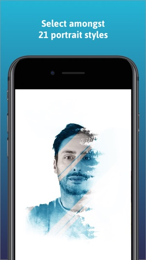 Portrait by img.ly Screenshot
