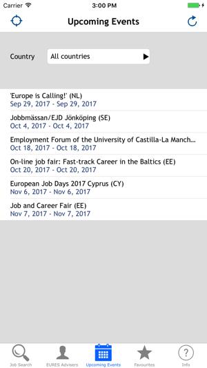 EURES - Tu empleo en Europa Screenshot