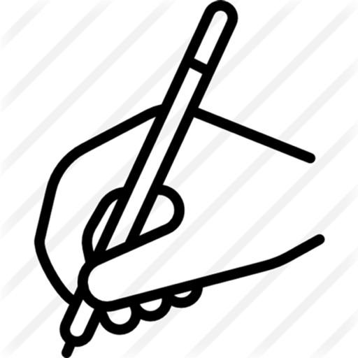 手写数字 通过 liu peng
