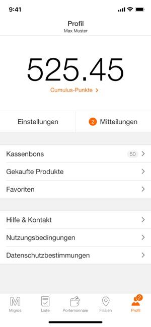 Migros – Einkaufen & Sparen Screenshot