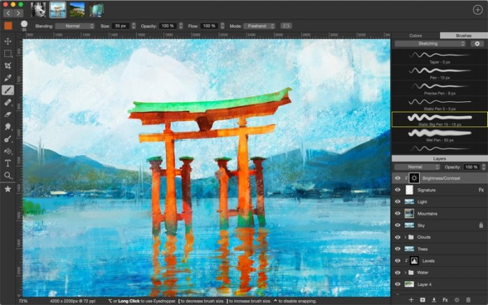 Artstudio Pro: Draw Paint Edit Screenshot 01 ikzeg6n