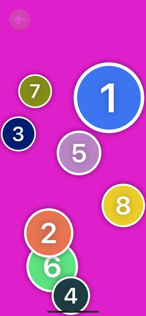 Counting Dots: Number Practice Screenshot