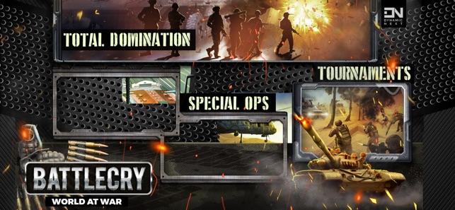 battlecry world war game