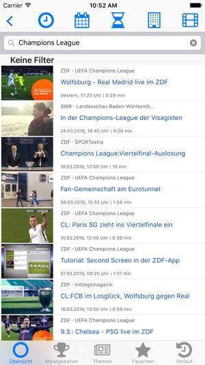 Fernsehsuche - Die Mediathekenübersicht (Free) Screenshot