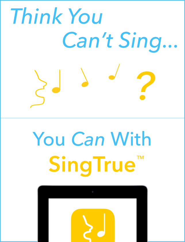 ‎SingTrue: Learn to sing in tune, pitch perfect Screenshot