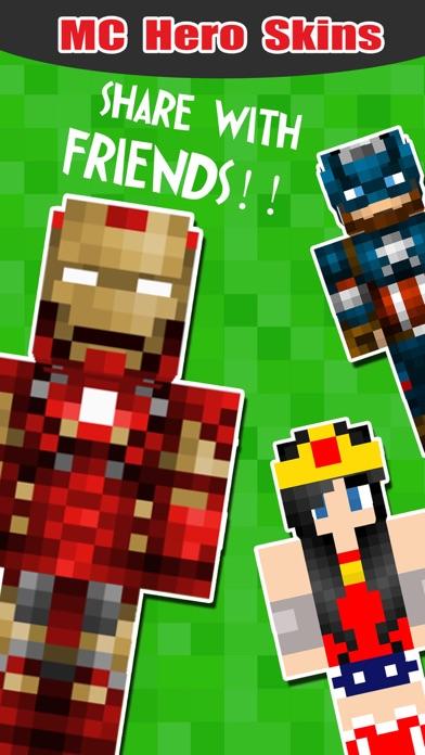 superhero skins export skin