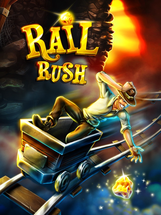 Rail Rush Screenshot