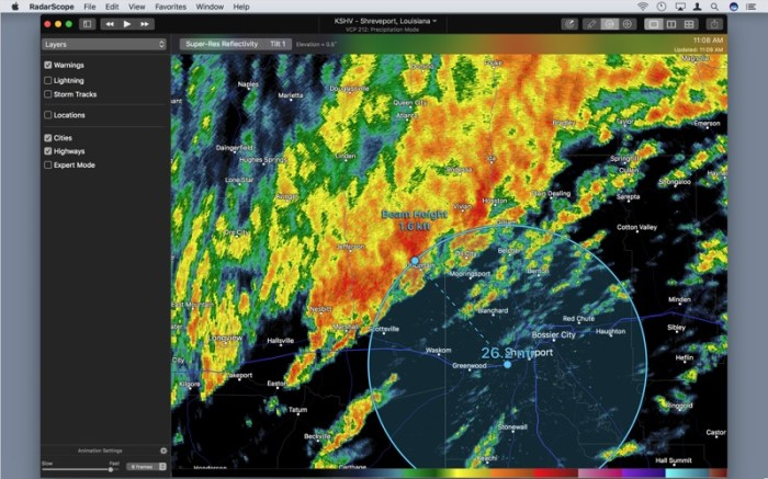 RadarScope Screenshot 05 ikzeg1n