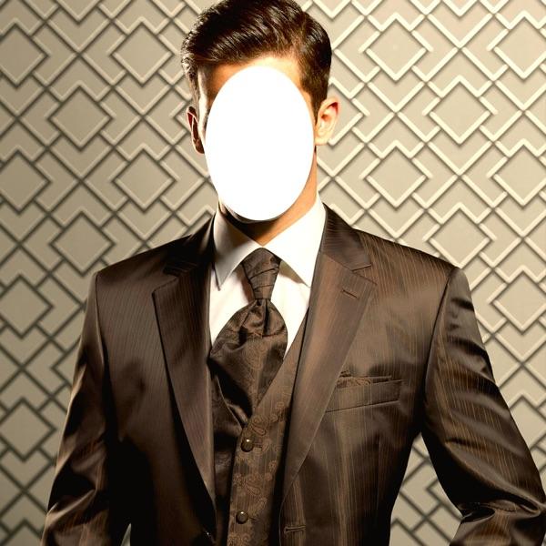 Mens Suits Photo Frames