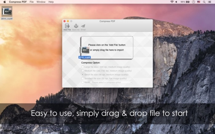 Compress PDF Screenshot 01 57wuupn