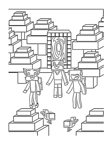 Stampy Cat Coloring Book: (Unofficial) Minecraft Coloring