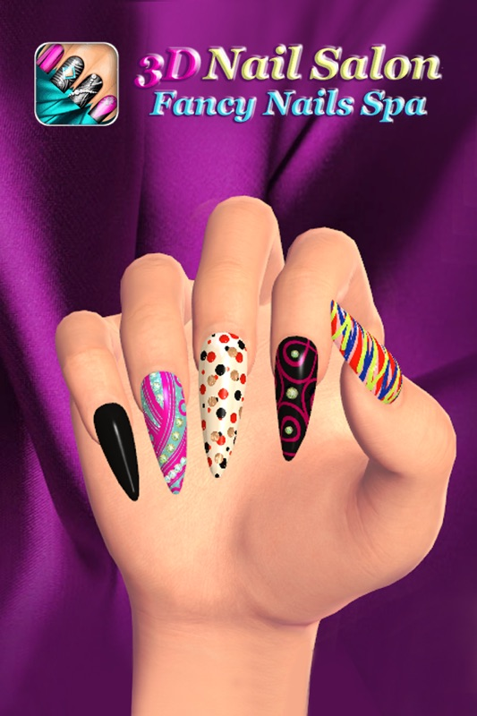 Girls Game Nails : girls, nails, Salon:, Fancy, Nails, Girls, Designs, Online, Cheat, Gehack.com