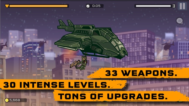 Strike Force Heroes: Extraction Screenshot