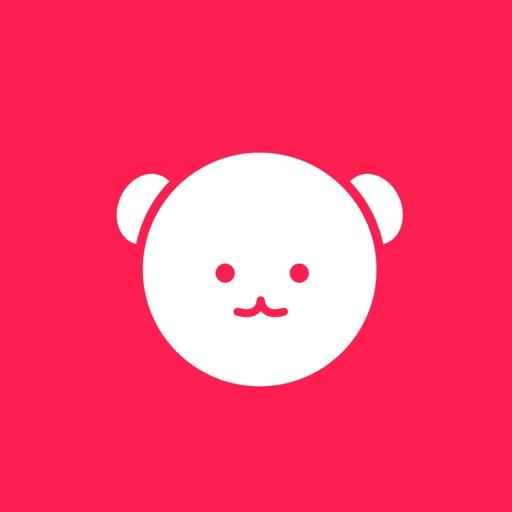 小顔っくま 〜表情筋で操作する顔トレゲーム & 小顔・美容情報満載アプリ〜