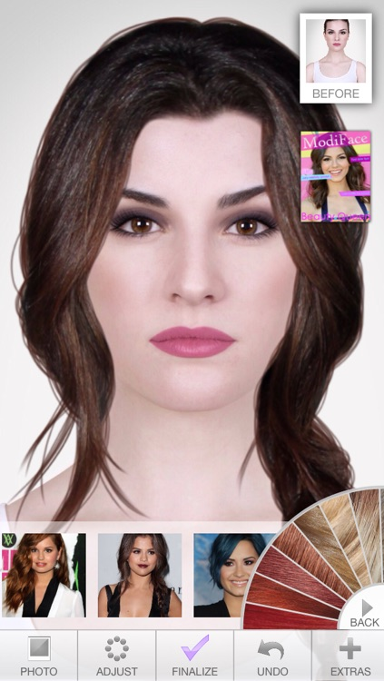 Ultimate Hairstyle Try On : ultimate, hairstyle, Ultimate, Hairstyle, ModiFace