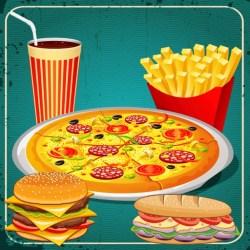 Fast Food Monster Game by Esra ALTOPRAK