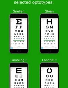 Iphone screenshots also eyechart vision screening on the app store rh itunesle
