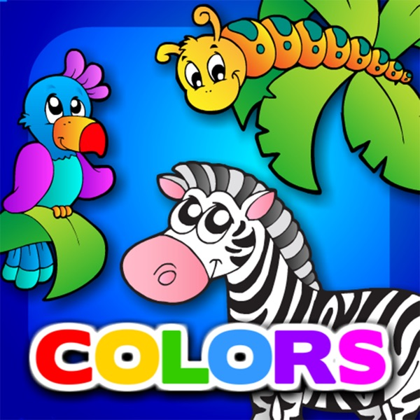 Preschool Colors Toys Train • Kids Love Learning Colors: Fun Interactive Educational Adventure Games with Animals, Cars, Trucks and more Vehicles for Children (Baby, Toddler, Kindergarten) by Abby Monkey®