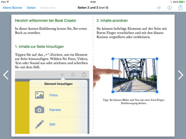 Book Creator for iPad Screenshot