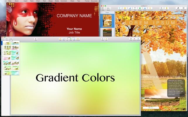 Box for iWork - Templates for Presentation, Document, Spreadsheet on ...