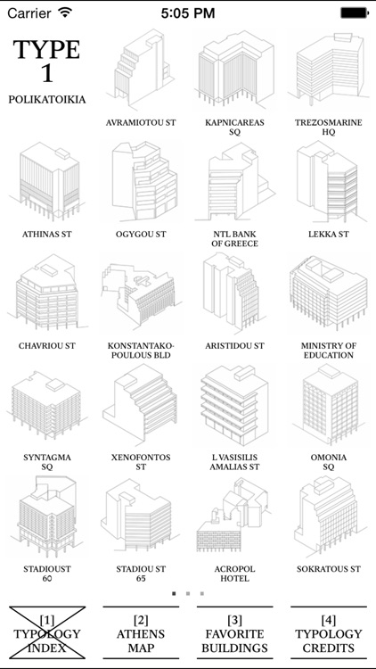 Athens Typology by Christ & Gantenbein AG