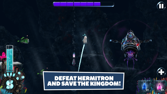 Snailboy: Rise of Hermitron Screenshot