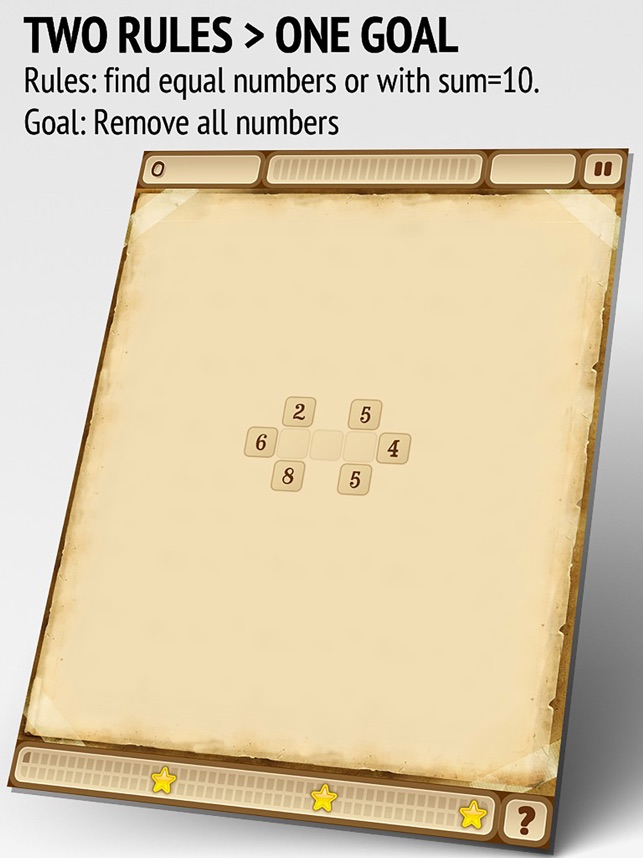 Sunny Seeds - Numbers puzzle Screenshot