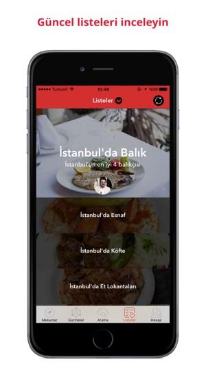 Gurme - Yemek & Restoran Keşfet Screenshot