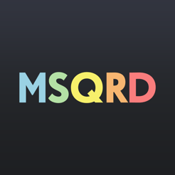 ‎MSQRD — Live Filters & Face Swap for Video Selfies