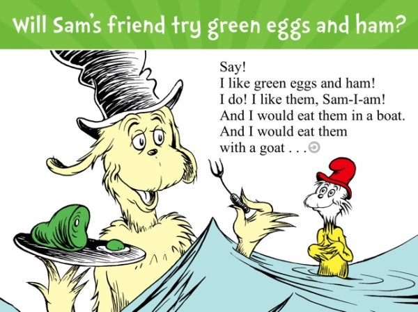 green eggs and ham # 5