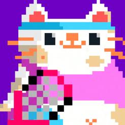 Candy Cat Tennis - Entrenamiento de píxeles