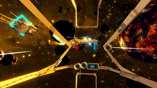‎End Space VR for Cardboard Screenshot