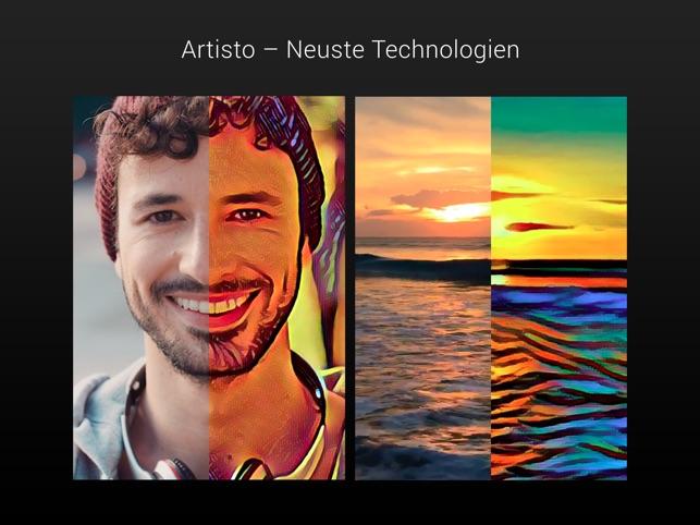 Artisto – Video und Foto-Editor Screenshot