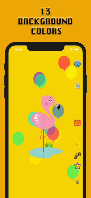Colourful Night Light: Music Screenshot