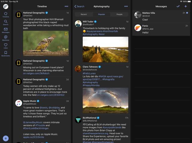 Fenix for Twitter Screenshot